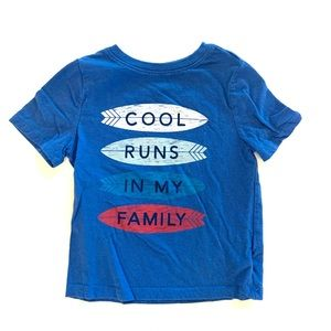 3/$25 Old Navy Toddler Boy Graphic Tee